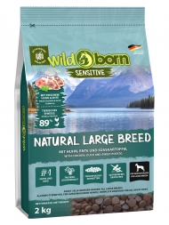 Wildborn Natural Large Breed 2kg