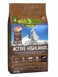 Wildborn Active Highlands 15kg