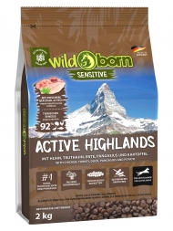Wildborn Active Highlands 2kg