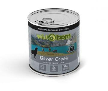 Wildborn Dose Silver Creek mit Ziegenfleisch 400g (Menge: 6 je Bestelleinheit)
