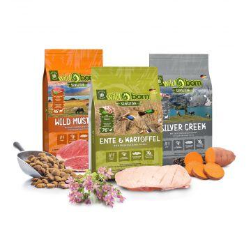 WILDBORN getreidefreies Hundefutter 3x500g Probierpaket SENSITIVE