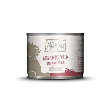 MjAMjAM - herzhaftes Wild & Kaninchen an fruchtigen Heidelbeeren 200 g (Menge: 6 je Bestelleinheit)