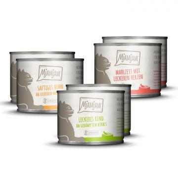 MjAMjAM - Mixpaket I - Huhn, Rind, Herzen 6 x 200 g
