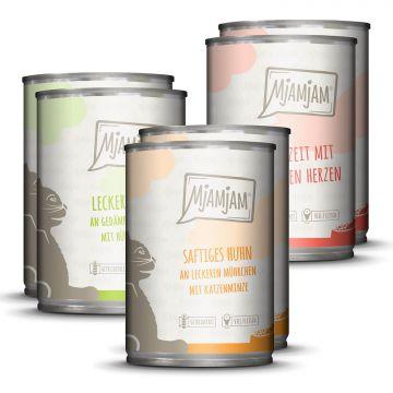 MjAMjAM - Mixpaket I - Huhn, Rind, herzen 6 x 400 g