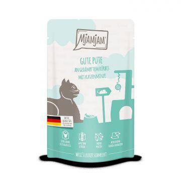 MjAMjAM - Quetschie - gute Pute an gedämpftem Kürbis 125 g (Menge: 12 je Bestelleinheit)