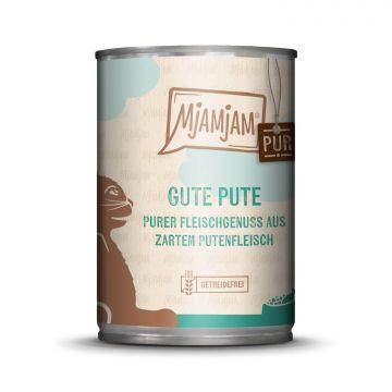 MjAMjAM - purer Fleischgenuss - gute Pute pur 400 g (Menge: 6 je Bestelleinheit)
