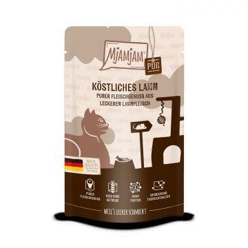 MjAMjAM - Quetschie - purer Fleischgenuss - köstliches Lamm pur 125 g (Menge: 12 je Bestelleinheit)
