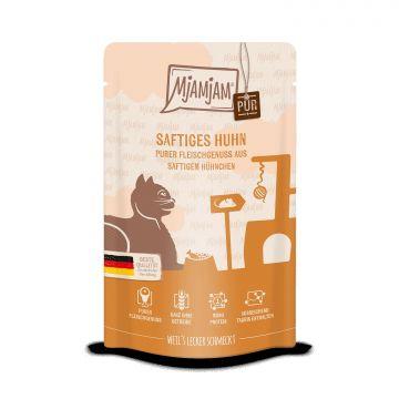 MjAMjAM - Quetschie - purer Fleischgenuss - saftiges Hühnchen pur 125 g (Menge: 12 je Bestelleinheit)