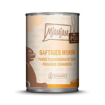 MjAMjAM - purer Fleischgenuss - saftiges Hühnchen pur 400 g (Menge: 6 je Bestelleinheit)