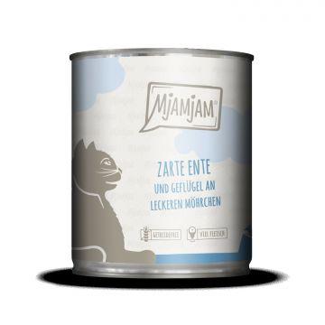 MjAMjAM - zarte Ente & Geflügel an leckeren Möhrchen 800 g (Menge: 6 je Bestelleinheit)