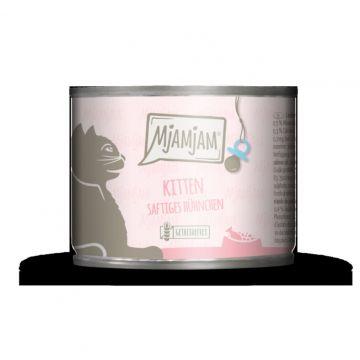 MjAMjAM - Kitten saftiges Hühnchen mit Lachsöl 200 g (Menge: 6 je Bestelleinheit)