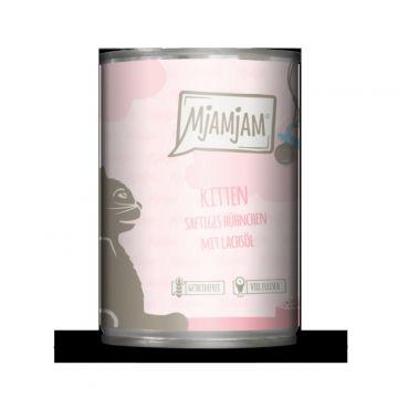 MjAMjAM - Kitten saftiges Hühnchen mit Lachsöl 400 g (Menge: 6 je Bestelleinheit)