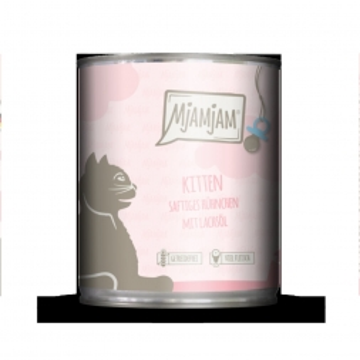 MjAMjAM - Kitten saftiges Hühnchen mit Lachsöl 800 g (Menge: 6 je Bestelleinheit)