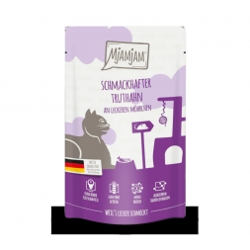 MjAMjAM - Quetschie - schmackhafter Truthahn an leckeren Möhrchen 125 g (Menge: 6 je Bestelleinheit)