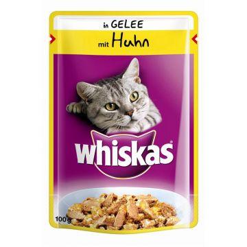 Whiskas mit Huhn in Gelee 100g (Menge: 24 je Bestelleinheit)