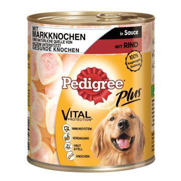 Pedigree Dose Adult Plus Markknochen mit Rind 800g (Menge: 12 je Bestelleinheit)