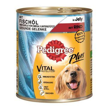 Pedigree Dose Adult Plus Fischöl mit Rind 800g (Menge: 12 je Bestelleinheit)
