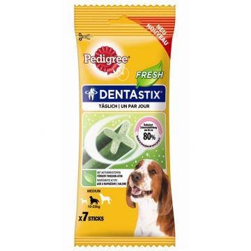 Pedigree Snack Denta Stix Fresh mittelgroße Hunde 7St. (Menge: 10 je Bestelleinheit)
