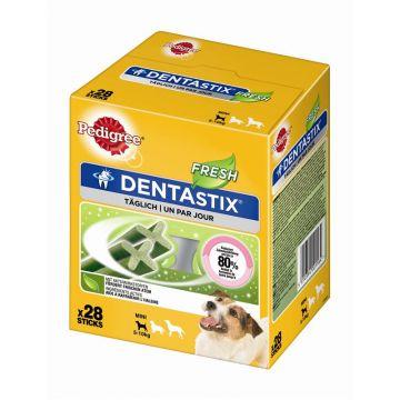 Pedigree Snack Denta Stix Fresh Multipack junge & kleine Hunde 4x7Stück (Menge: 4 je Bestelleinheit)