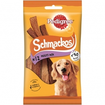 Pedigree Snack Schmackos Multi Mix 12 Stück (Menge: 18 je Bestelleinheit)