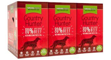 Country Hunter Dog Frischebeutel 80% Weiderind 150g (Menge: 6 je Bestelleinheit)
