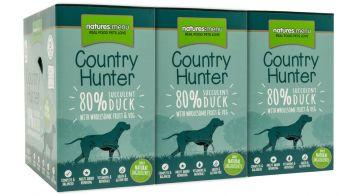 Country Hunter Dog Frischebeutel 80% Saftige Ente 150g (Menge: 6 je Bestelleinheit)