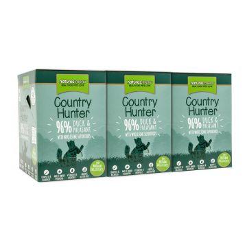 Country Hunter Cat Frischebeutel mit 96% Ente & Fasan 85g (Menge: 6 je Bestelleinheit)