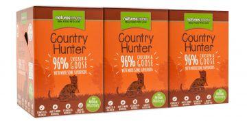 Country Hunter Cat Frischebeutel 96% Huhn & Gans 85g (Menge: 6 je Bestelleinheit)