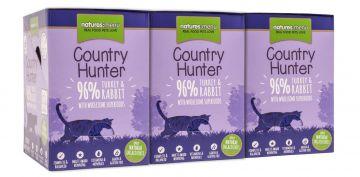 Country Hunter Cat Frischebeutel 96% Pute & Kaninchen 85g (Menge: 6 je Bestelleinheit)