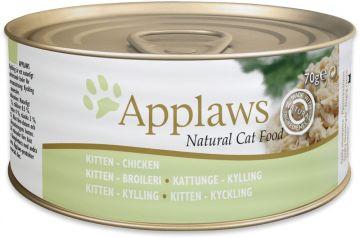 Applaws Cat Nassfutter Dode Kitten Hühnchen 70 g (Menge: 24 je Bestelleinheit)