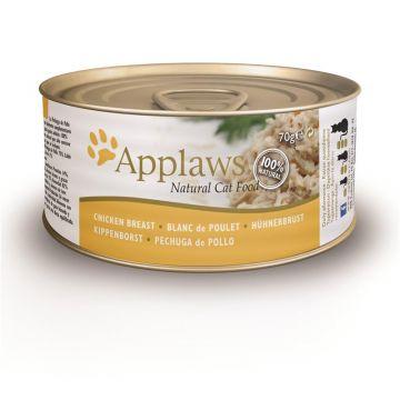 Applaws Cat Nassfutter Dose Hühnchenbrust 70 g (Menge: 24 je Bestelleinheit)