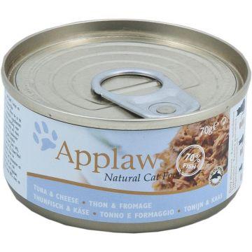 Applaws Cat Nassfutter Dose Thunfischfilet & Käse 70 g (Menge: 24 je Bestelleinheit)