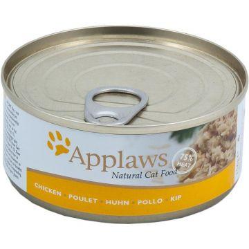 Applaws Cat Nassfutter Dose Hühnchenbrust 156 g (Menge: 24 je Bestelleinheit)