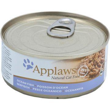 Applaws Cat Nassfutter Dose Seefisch 156 g (Menge: 24 je Bestelleinheit)