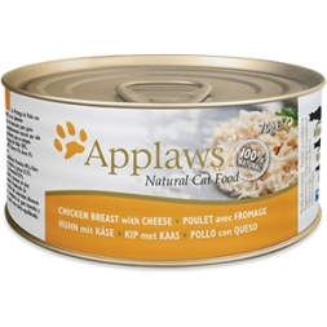 Applaws Cat Nassfutter Dose Hühnchenbrust & Käse 156 g (Menge: 24 je Bestelleinheit)