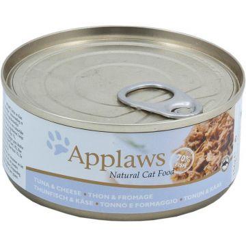Applaws Cat Nassfutter Dose Thunfischfilet & Käse 156 g (Menge: 24 je Bestelleinheit)