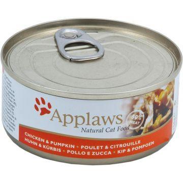 Applaws Cat Nassfutter Dose Hühnchenbrust & Kürbis 156 g (Menge: 24 je Bestelleinheit)