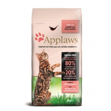 Applaws Cat Trockenfutter Hühnchen & Lachs 2 kg