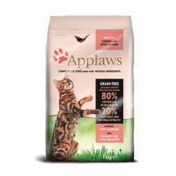 Applaws Cat Trockenfutter Hühnchen & Lachs 7,5 kg