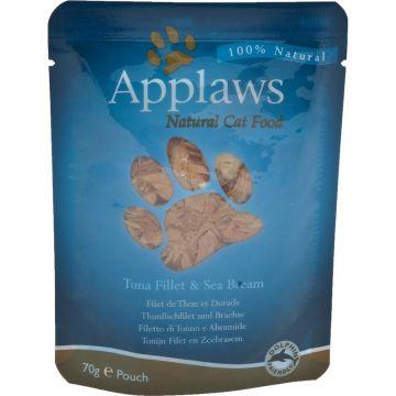 Applaws Cat Nassfutter P.B. Thunfischfilet & Brasse 70 g (Menge: 12 je Bestelleinheit)