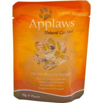Applaws Cat Nassfutter P.B. mit Hühnchenbrust & Kürbis 70 g (Menge: 12 je Bestelleinheit)