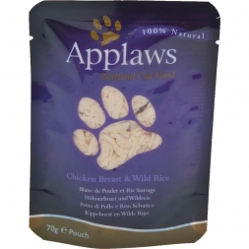 Applaws Cat Nassfutter P.B. mit Hühnchenbrust & Wildreis 70 g (Menge: 12 je Bestelleinheit)
