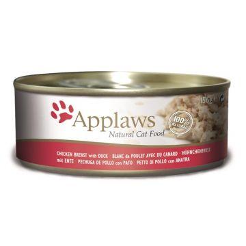 Applaws Cat Nassfutter Dose Hühnchenbrust & Ente 156 g (Menge: 24 je Bestelleinheit)