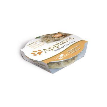 Applaws Cat Nassfutter Pots Fruchtige Hühnerbrust mit Ente 60 g (Menge: 10 je Bestelleinheit)
