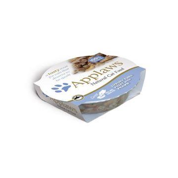 Applaws Katzen Nassfutter Thunfischfilet und Garnelen 60 g (Menge: 10 je Bestelleinheit)
