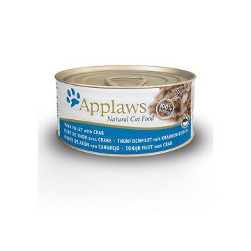 Applaws Cat Nassfutter Dose Thunfischfilet & Krabben 70 g (Menge: 24 je Bestelleinheit)