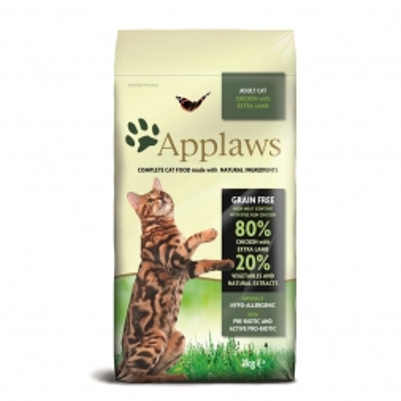 Applaws Cat Trockenfutter Hühnchen mit Lamm 2 kg