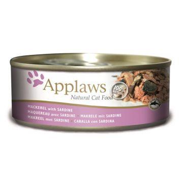 Applaws Cat Nassfutter Dose Makrele & Sardine 156 g  (Menge: 24 je Bestelleinheit)
