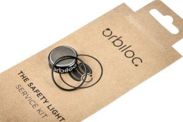 Orbiloc Service Kit.  Batteriepaket, O-ring, Wartungswerkzeug
