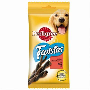 Pedigree Snack Twistos mit Rind 8 Stück (Menge: 12 je Bestelleinheit)